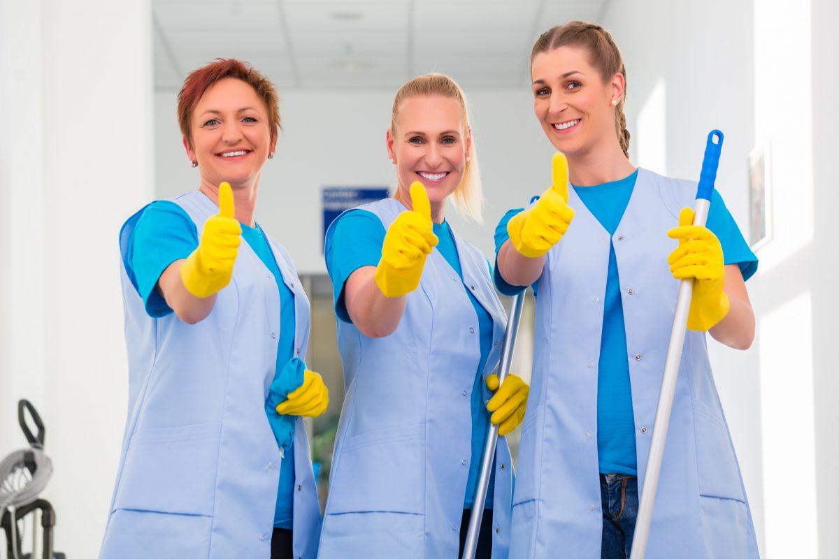 Batas para trabajos de limpieza
