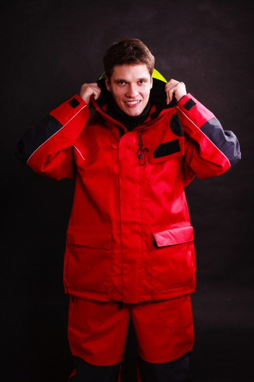 Protección con traje térmico